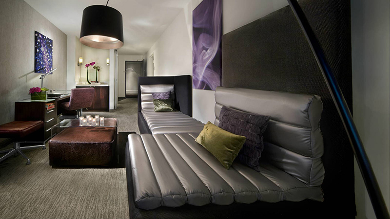 Spa Studio Suite at the W Hotel in N YC
