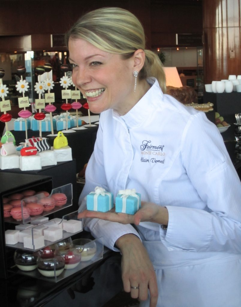 Pastry Chef Claire Verneil in Monte Carlo