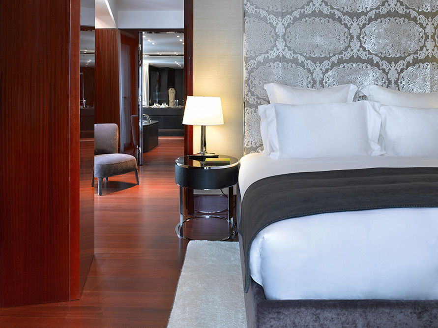 fashionable and luxurious stay at Bulgari Hotel London