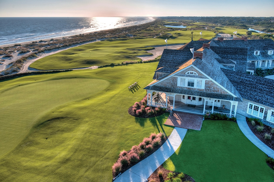 Kiawah Ocean Course Clubhouse & 18th