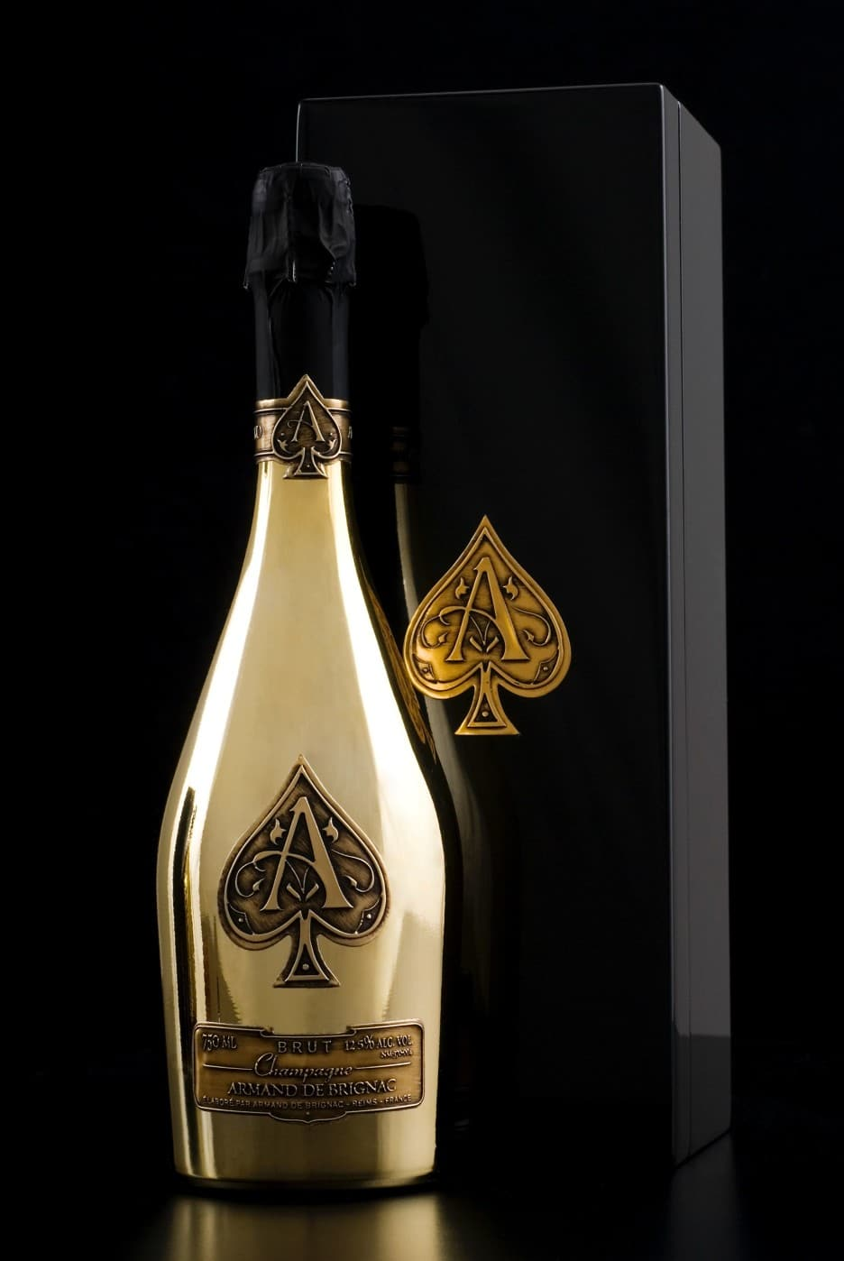 Armand Brut Gold Bottle with Case