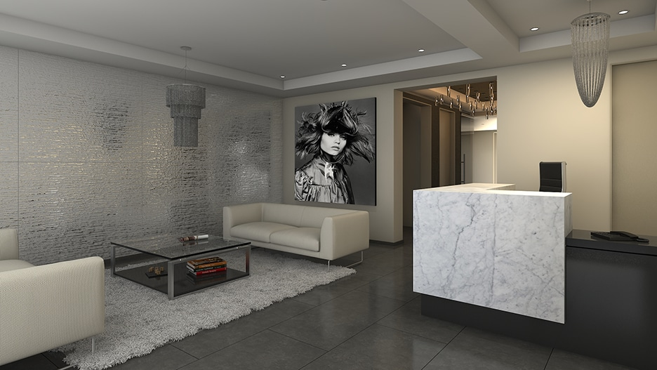 Palm Lobby in Beverly Hills - Real Estate