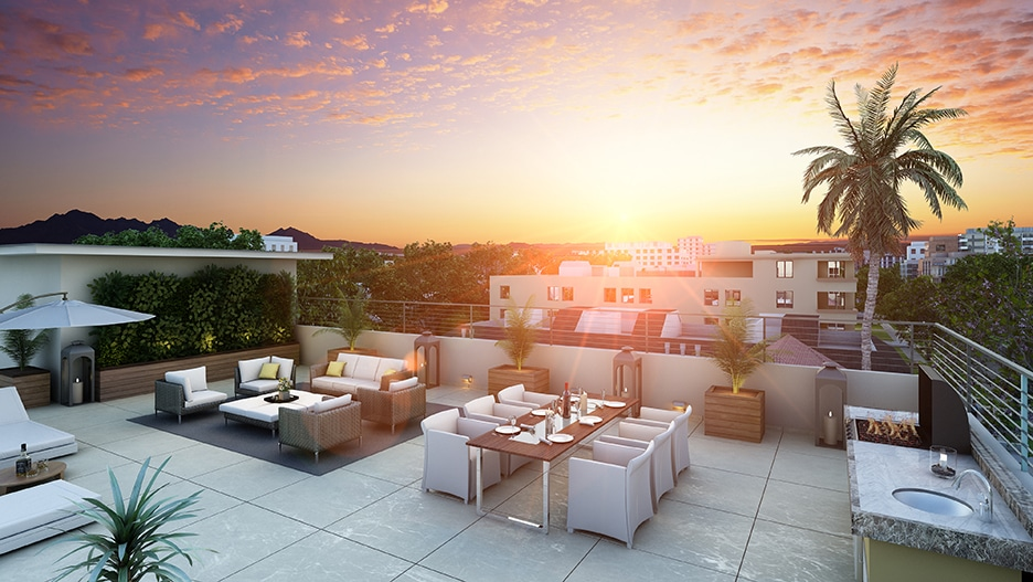 Palm Terraza Beverly Hills Real Estate