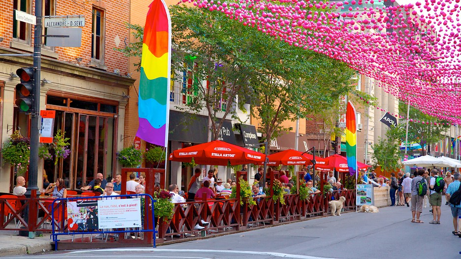 Quebec City Gay Villa featured in Upscale Living Magazine
