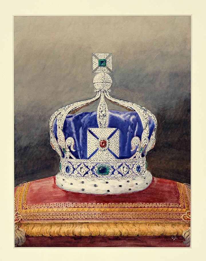 The Imperial State Crown of India