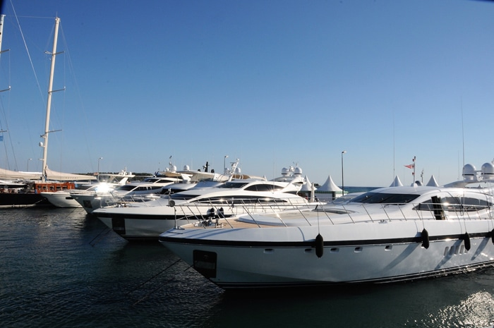 2017 Yachts Port Canto Cannes Yacht Festival