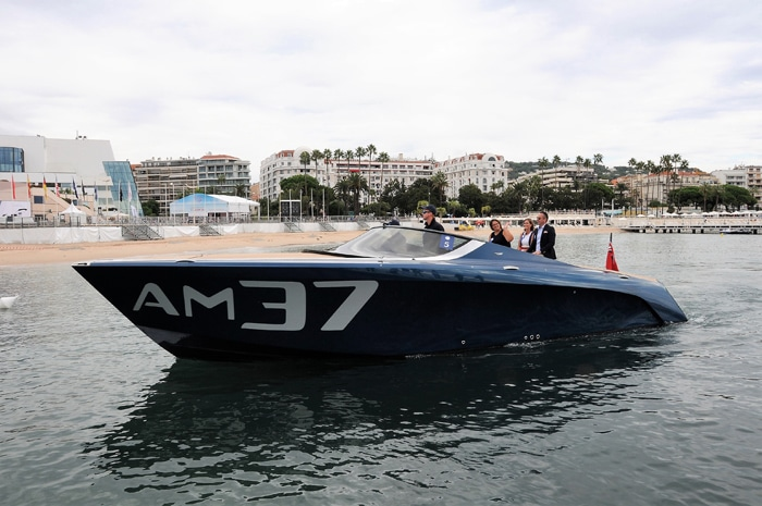 Concours dElegance Aston Martin at Cannes Yacht Festival 2017