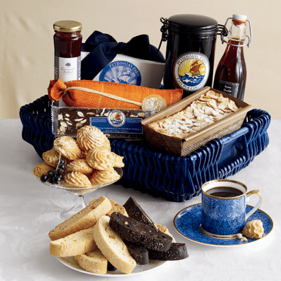 Petrossian Sidewalk Café Collection for Valentine's Day