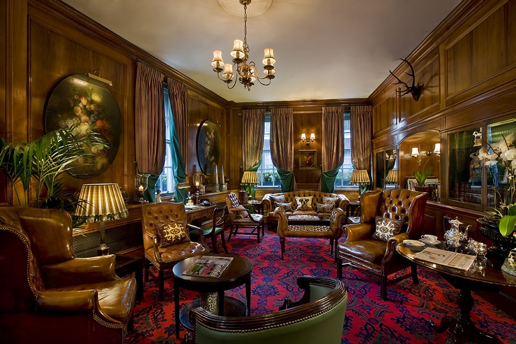 Library at the Chesterfield Hotel