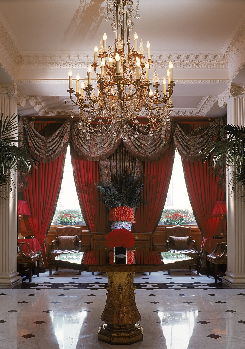 Lobby at the Chesterfield Hotel