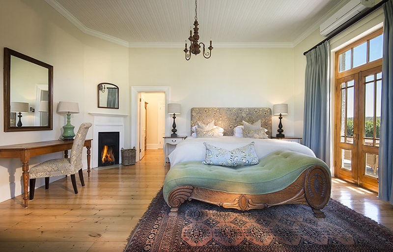 bedroom in Kwandwe Private Game Reserve