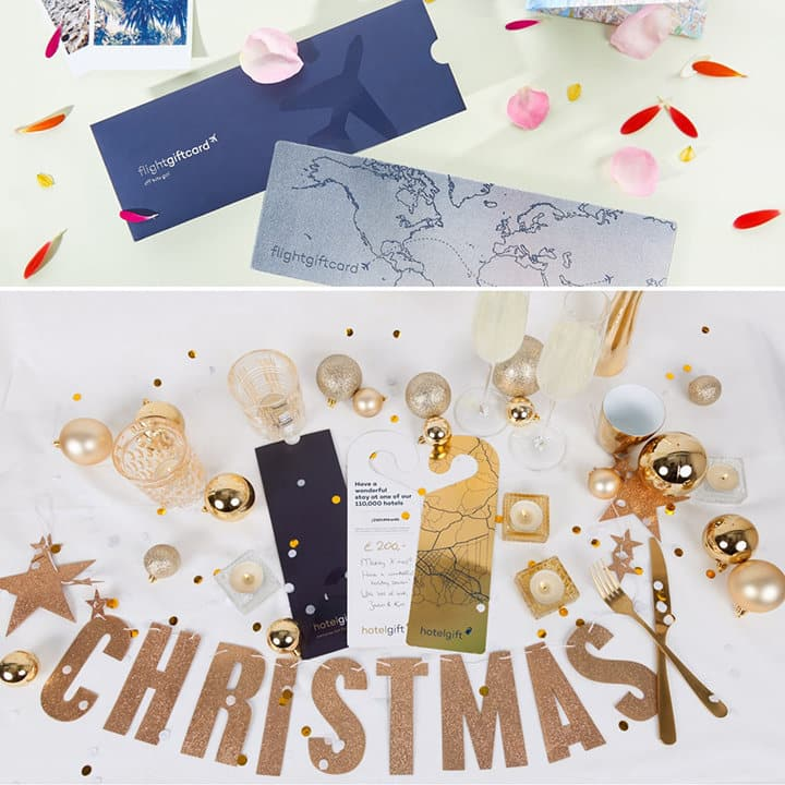 FlightGiftCard and Hotel Gift Christmas