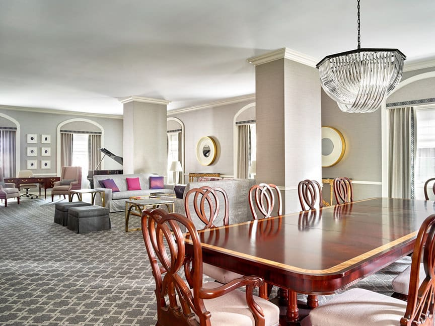 Olympic Suite at Seattle's Fairmont Olympic Hotel