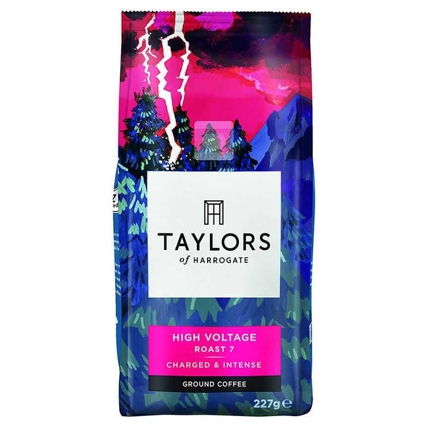 High Voltage Ground Coffee by Taylor's of Harrogate