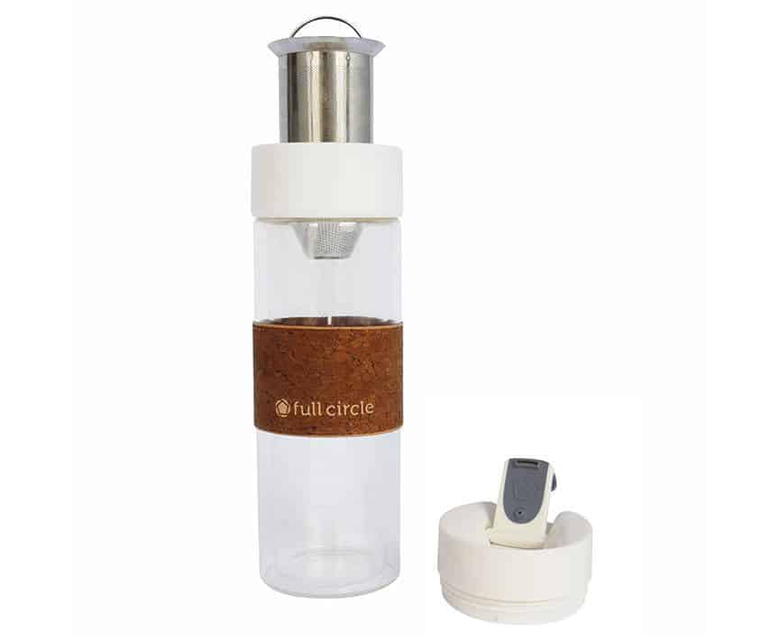 White Brumi Hot and Cold Brew Bottle by Whittard Chelsea