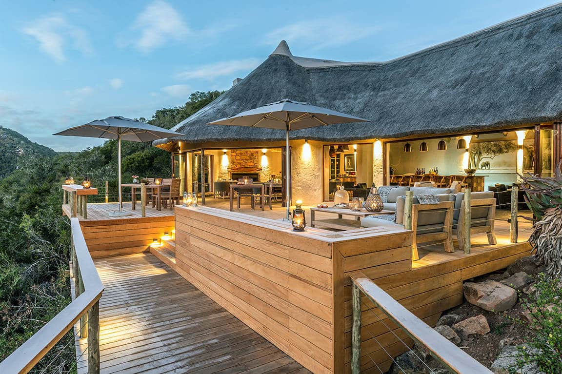 Inzolo Exclusive Game Lodge Deck