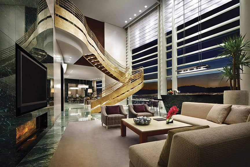 Aria Las Vegas is one of the 50 Best Hotels in the United States