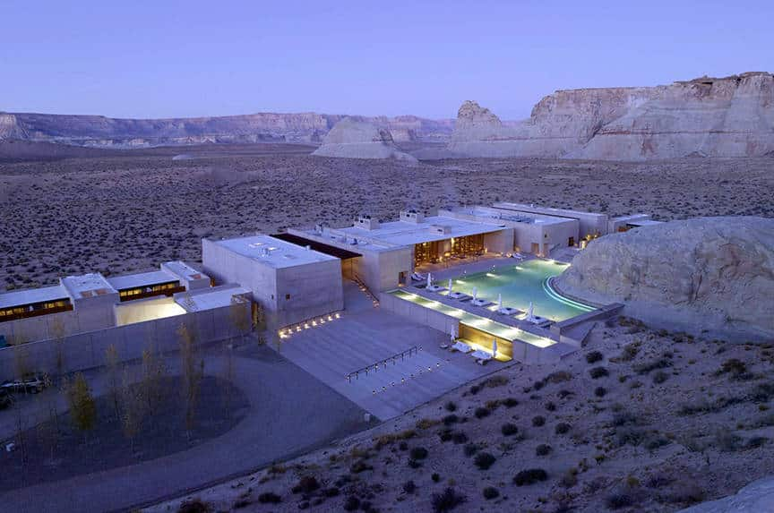 Amangiri Hotel, Utah is one of the 50 Best Hotels in the United States