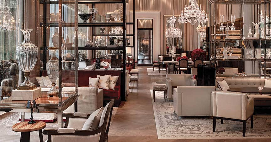 Baccarat Hotel is one of the 50 Best Hotels in the United States
