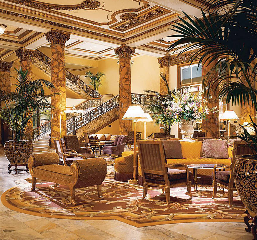 Fairmont San Francisco, CA is one of the 50 Best Hotels in the United States
