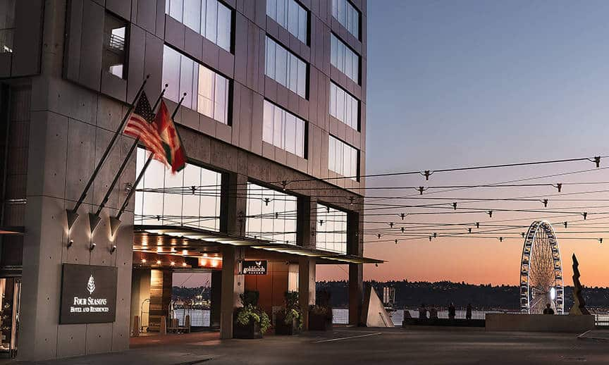 Four Seasons Hotel Seattle is one of the 50 Best Hotels in the United States