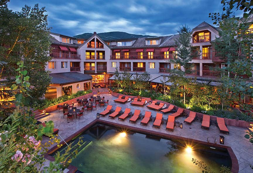 Little Nell, Aspen, CO is one of the 50 Best Hotels in the United States