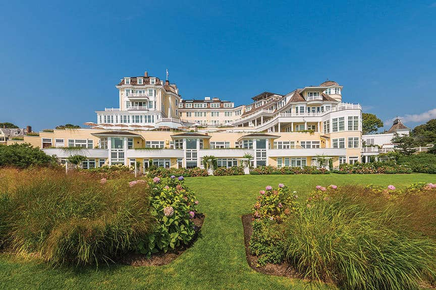 Ocean House hotel in Westerly, Rhode Island is one of the 50 Best Hotels in the United States