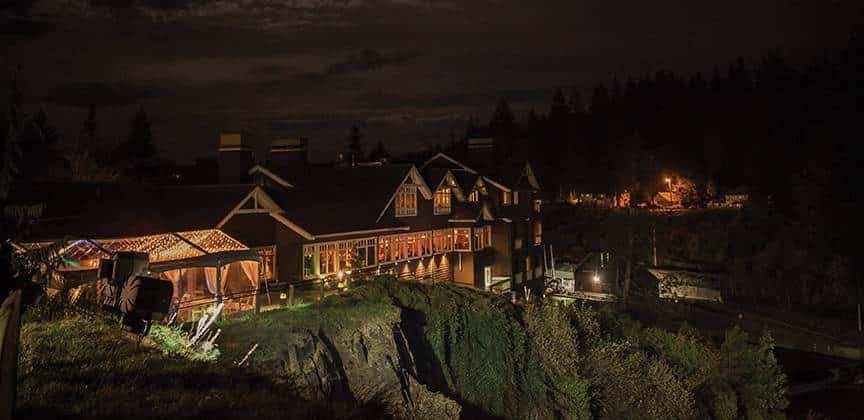 Salish Lodge & Spa, Snoqualmie WA is one of the 50 Best Hotels in the United States