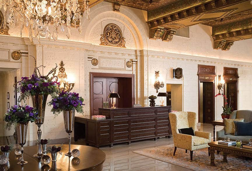 St. Regis hotel in Washington DC is one of the 50 Best Hotels in the United States
