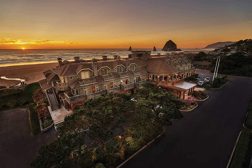 Stephanie Inn, Cannon Beach, OR is one of the 50 Best Hotels in the United States