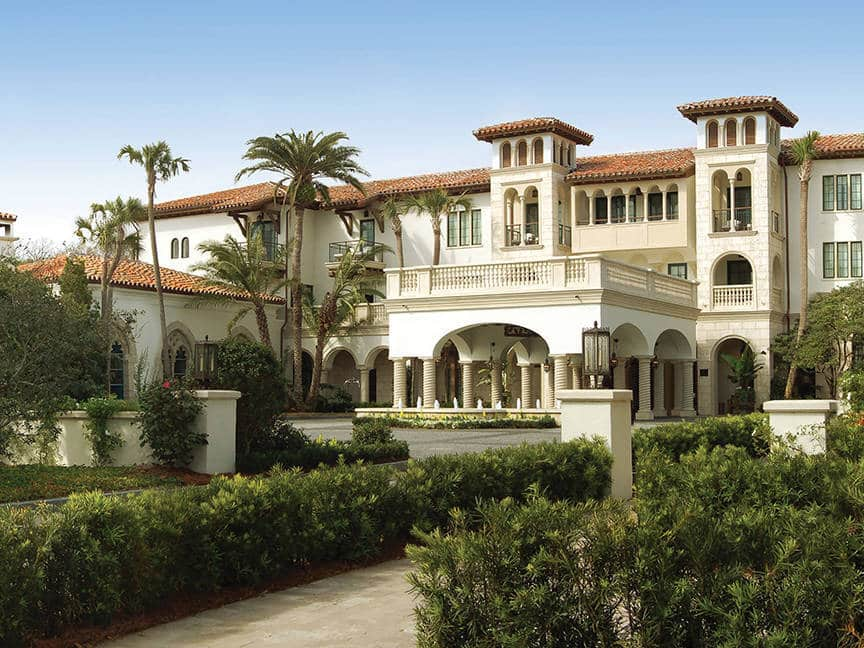 The Cloister at Sea Island, Sea Island, Georgia is one of the 50 Best Hotels in the United States