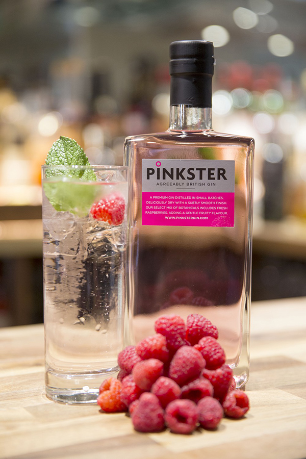 French Twister Pinkster Gin cocktail