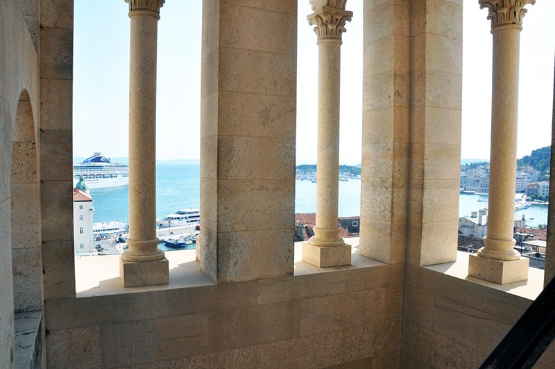 Croatia yacht charter View from Cathedral SPLIT