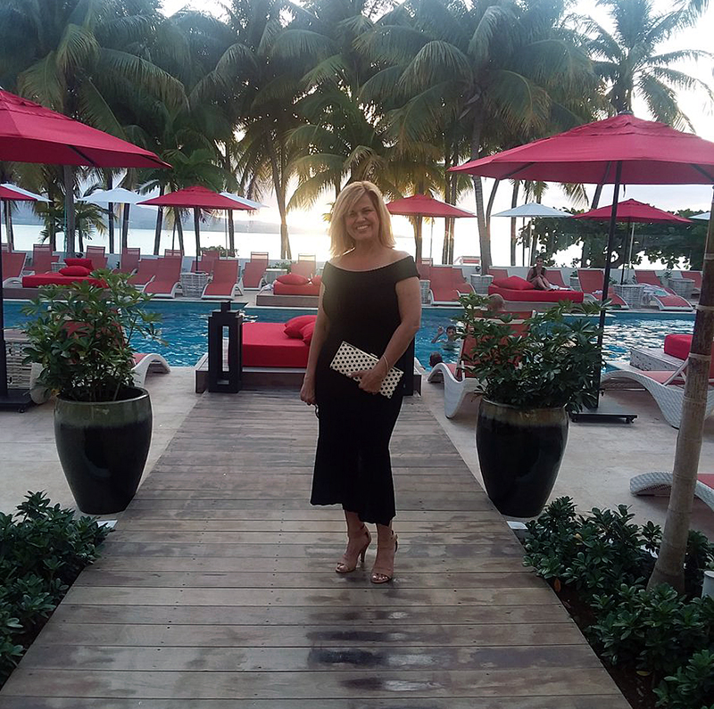 ready to attend a Round Hill Hotel and Villas cocktail party hosted by the chairman of board and HC to welcome the Newport RI International and Jamaican Polo teams