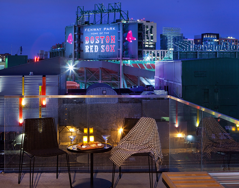 Fenway Executive Suite Terrace with View