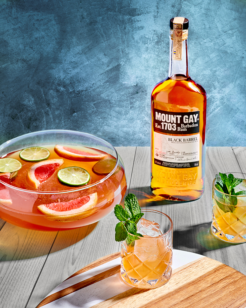 Summer Solstice Punch by Mount Gay Rum