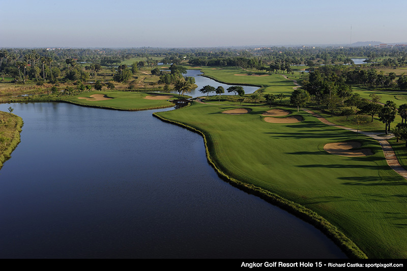 Angkor Golf Resort is one of Asia's Most Challenging Golf Course