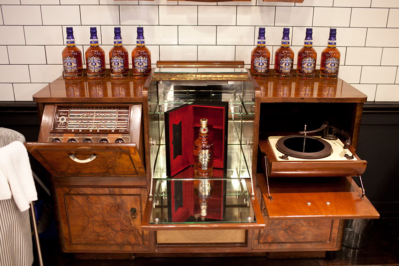 Barber Shop + Chivas at QT Sydney in Australia, a perfect gift for Father's Day