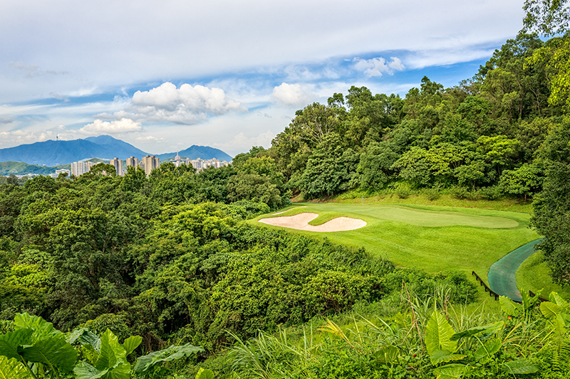 Eden Course Hong Kong is one of Asia's most challenging golf courses