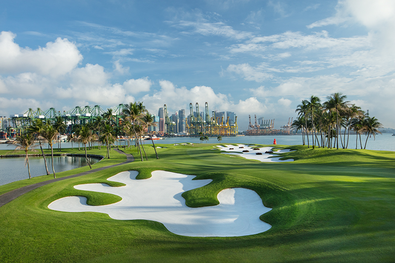 Seraponga Sentosa Hole is one of Asia's Most Challenging Golf Course