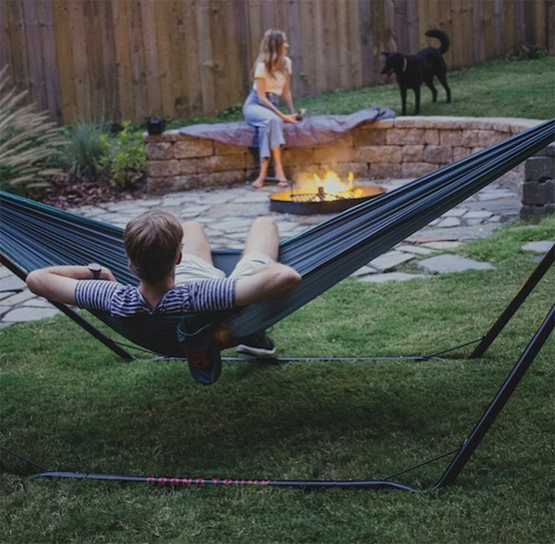 TrunkTech Hammock and Stand, a perfect Gift for Father's Day