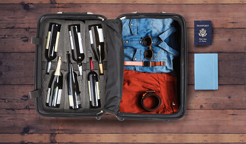 VinGuardValise Wine Suitcase as a Father's Day present
