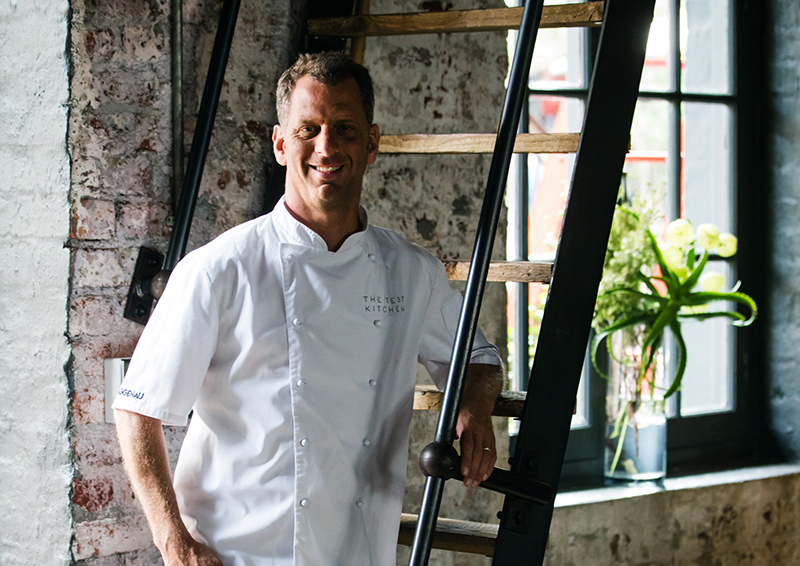 Chef Luke Dale Roberts Owner of The Test Kitchen. Photo by Andy Lund