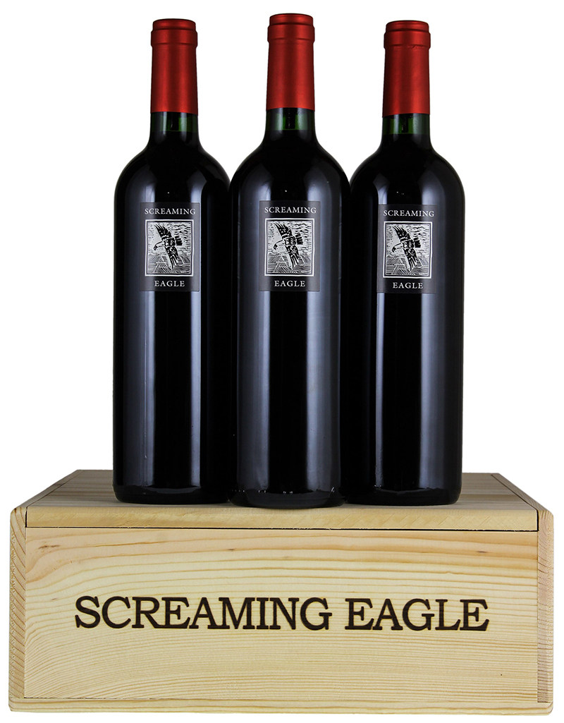 Screaming Eagle Cabernet 1992 wine is one of the most expensive wines in the world