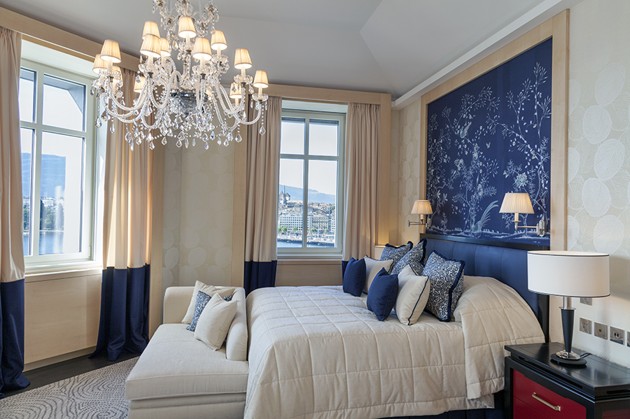 Beau-Rivage Genève Switzerland is considered one of the lavish hotels for Solo Travel