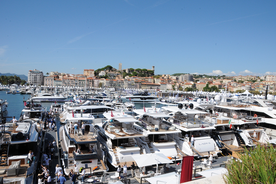 Cannes Yachting Festival 2019 Old Port