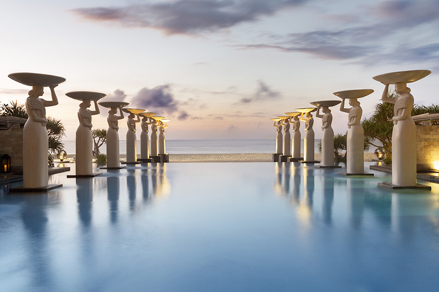 Mulia Resort & Villas in Bali is considered one of the lavish hotels for Solo Travel