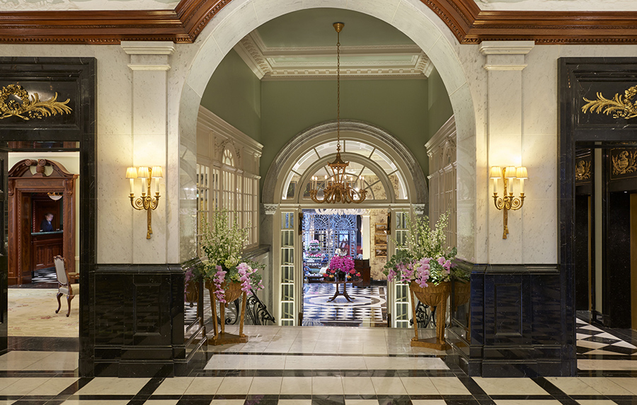Savoy front entrance