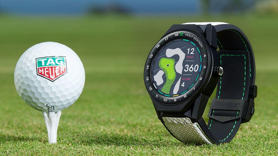 Tag Heuer Connected Modular 45 golf edition men watch
