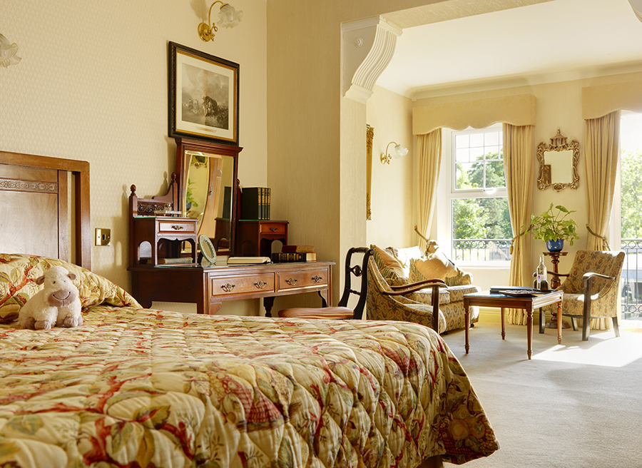Superior room at the Park Hotel Kenmare, Ireland